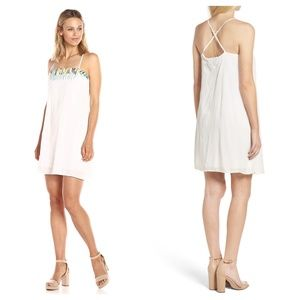 French Connection Melissa Shift Embroidered Dress